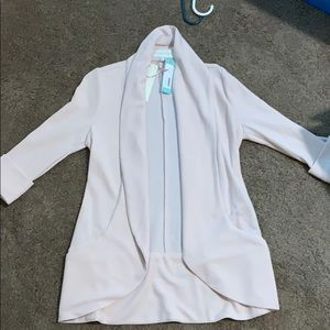 Tunic blazer